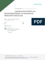 advia 2120 Hematology Analyzer
