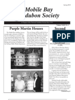Spring 2010 Mobile BayAudubon Society Newsletters