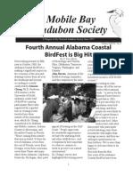 Spring 2008  Mobile Bay Audubon Society Newsletters