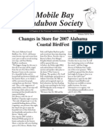 Fall 2007  Mobile Bay Audubon Society Newsletters