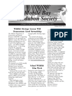 Spring 2007  Mobile Bay Audubon Society Newsletters
