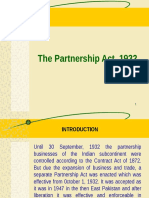 Partnership Act., 1932