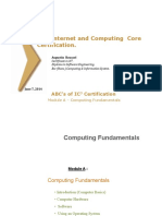 IC3 - ComputingFundamentals Introduction - by Augustin Roussel