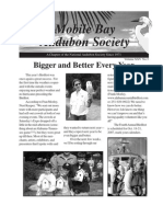 Winter 2006  Mobile Bay Audubon Society Newsletters