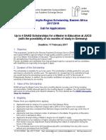 DAAD Scholarships JUCO