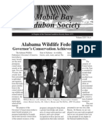 Fall 2006 Mobile Bay Audubon Society Newsletters