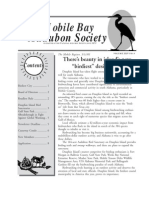 July-August 2005 Mobile Bay Audubon Society Newsletters