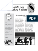 January-February 2005 Mobile Bay Audubon Society Newsletters