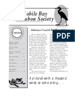 November-December 2004 Mobile Bay Audubon Society Newsletters