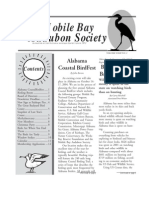 January-February 2004 Mobile Bay Audubon Society Newsletters