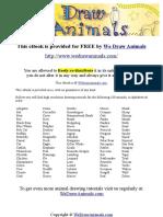 100 Animale - Cum Sa Desenam .pdf