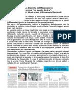"""5 Febbraio 2017 - La Gazzetta del Mezzogiorno - Angela Leucci recensisce """"Lo spazio dentro"""", di Elisabetta Liguori, illustrazioni di Emanuela Bartolotti"""