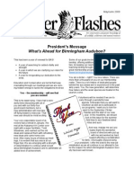 May-June 2009 Flicker Flashes Birmingham Audubon Society Newsletter