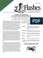 October 2009 Flicker Flashes Birmingham Audubon Society Newsletter
