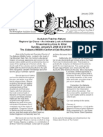 January 2008 Flicker Flashes Birmingham Audubon Society Newsletter