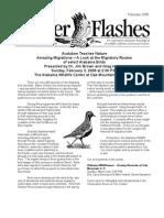 February 2008 Flicker Flashes Birmingham Audubon Society Newsletter