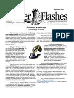 September 2008 Flicker Flashes Birmingham Audubon Society Newsletter