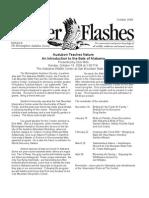 October 2008 Flicker Flashes Birmingham Audubon Society Newsletter