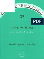 Marcela Lagarde - Claves feministas para la autoestima de las mujeres.pdf