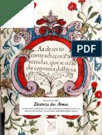 «Destreza das Armas» offprint - «As dezeoito contradicções»
