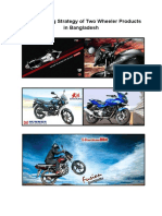 The Marketing Strategy of Two Wheeler Products in Bangladesh