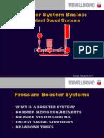 Booster Basics Presentation