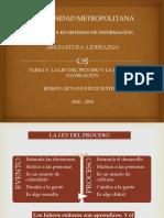 Ley Del Proceso y Ley de La Navegacion