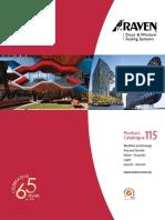 Raven Door Seals Catalogue