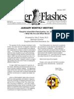January 2007 Flicker Flashes Birmingham Audubon Society Newsletter