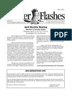 April 2007 Flicker Flashes Birmingham Audubon Society Newsletter