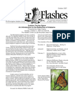 October 2007 Flicker Flashes Birmingham Audubon Society Newsletter