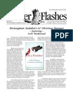 November-December 2007 Flicker Flashes Birmingham Audubon Society Newsletter