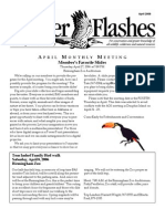 April 2006 Flicker Flashes Birmingham Audubon Society Newsletter