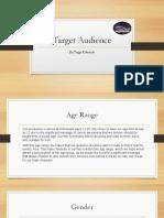 331247117 Target Audience