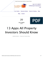 13 Apps All Property Investors Should Know – Progressive Property