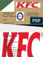 PPT on KFC