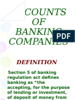 Accounts of Banking Co-1