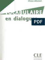 CLE Vocabulaire en Dialogues (Niveau Débutant)