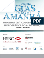 Projeto Aguas Do Amanha Um Olhar Critico Sobre a Bacia Hidrografica Do Alto Iguacu