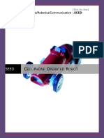 SEED-Cellphone Operated Robot.doc
