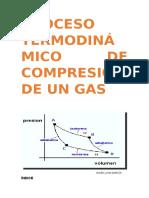 Compresión de Un Gas