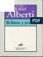Alberti Rafael - Relatos Y Prosa