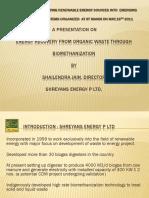 Presentation Waste to Energy
