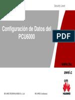 PCU Configuracion de Datos