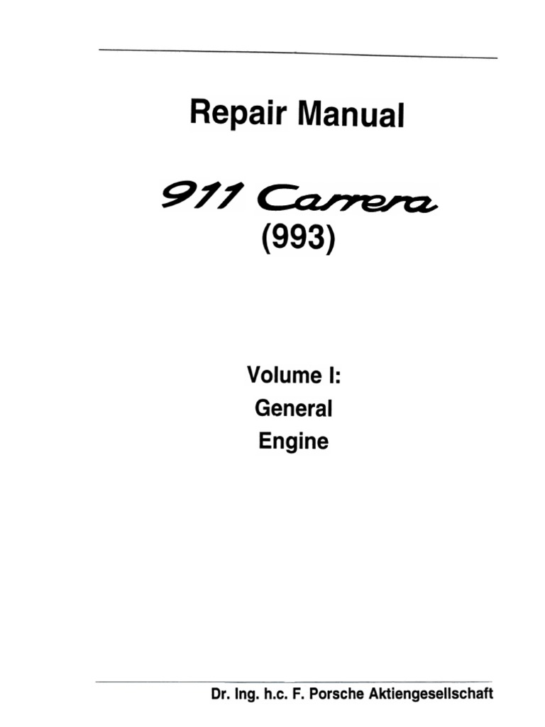 porsche 993 workshop manuals | transmission (mechanics) | manual  transmission