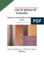 Libro Rojo Plantas de Colombia