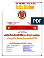 The JoCo Marine - February 2017