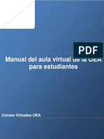 Manual Del Aula Virtual de La OEA Para Estudiantes