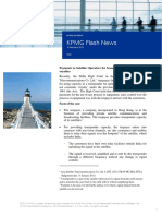 KPMG Flash News Asia Satellite Telecommunications