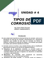 UNIDAD IV Tipos de Corrosión